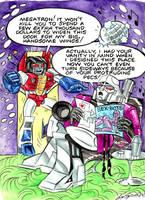 Megatron's Bachelor Pad. by blackhellcat