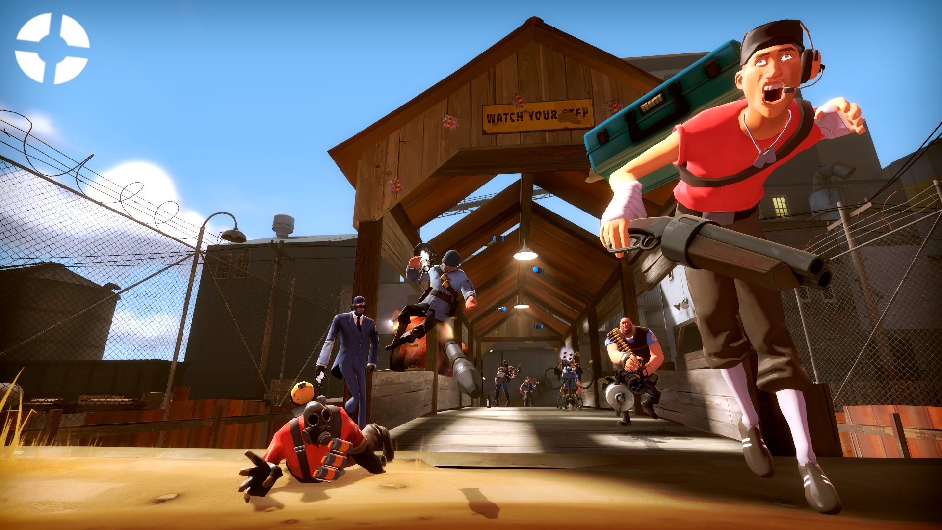 First Ever TF2 Wallpaper Ive Made Using Garrys Mod Opinions