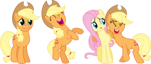 Applejack Laughing: The Trilogy