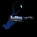 EQG Rarity Keytar Silhouette