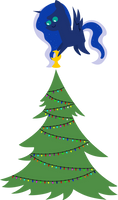 25 Days of Christmas Ponies- Day 20 Luna