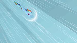SONIC RAINBOOM animtion by x-Princess-Luna-x