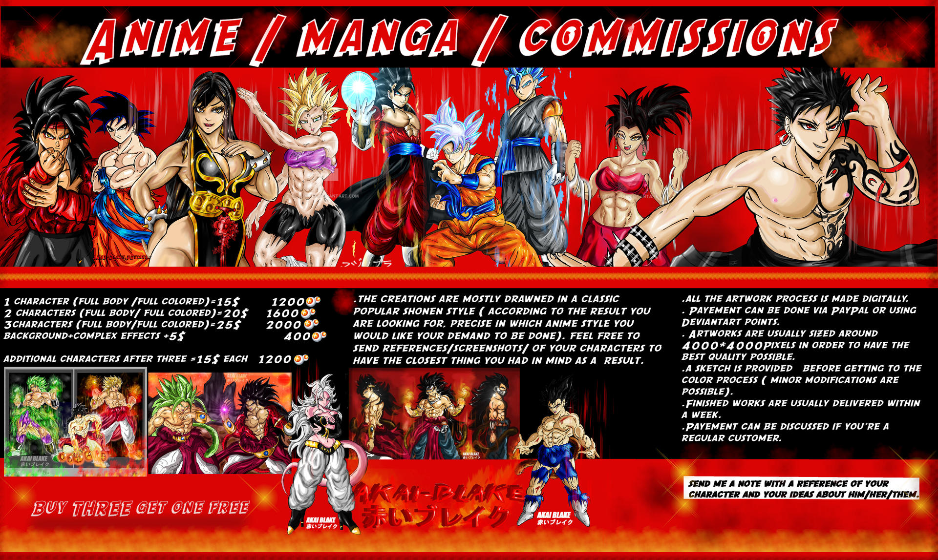 2020 Commissions Info