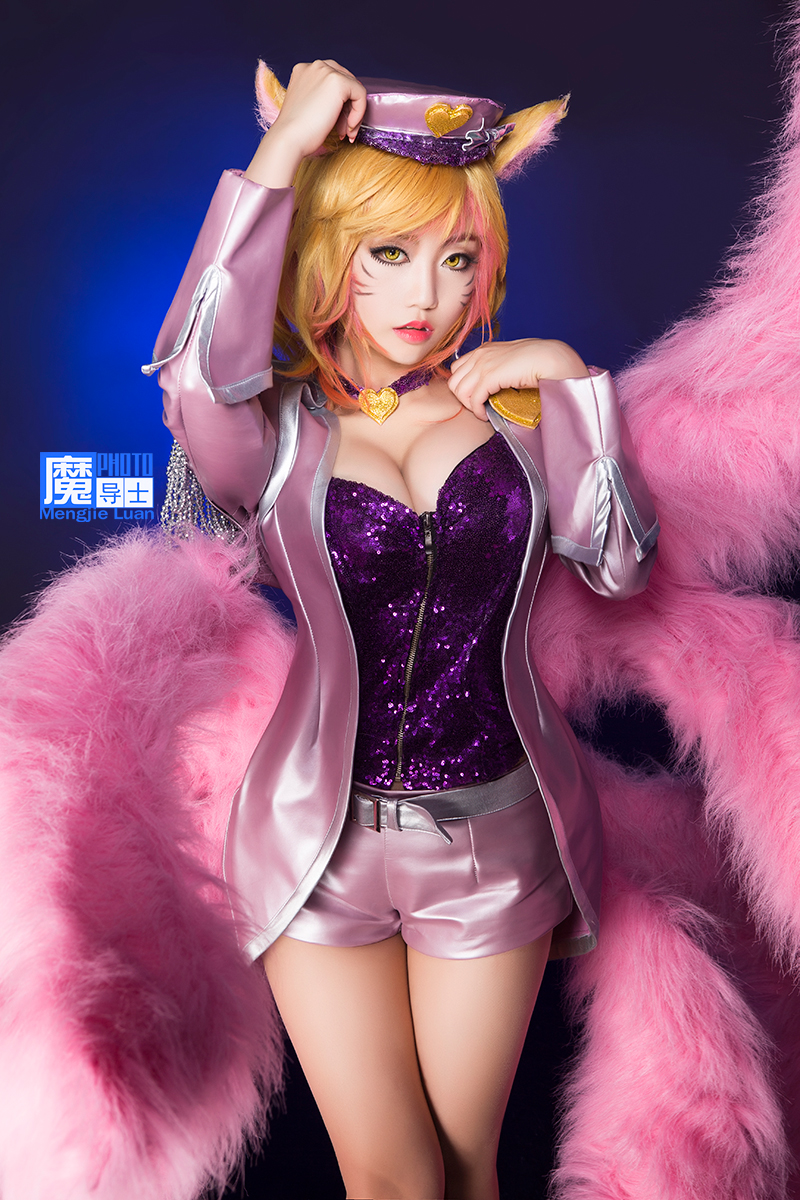 League of Legends Popstar Ahri by aoandou on DeviantArt