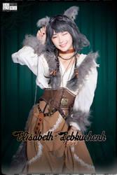 2017 Halloween Werewolf Elisabeth=Lebkuchen