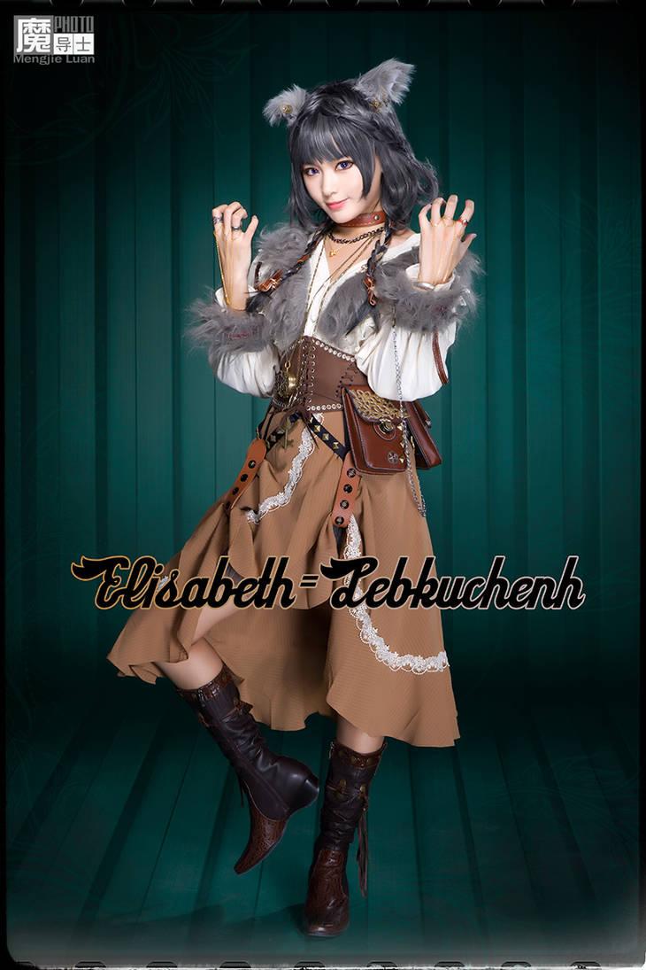 2017 Halloween Werewolf Elisabeth=Lebkuchen by aoandou