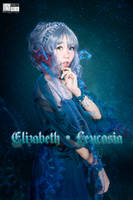 2017 Halloween Siren Elisabeth-Leucosia by aoandou