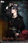 2017 Halloween Pirate Elisabeth-Captain