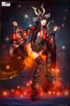 2017 Halloween Seafire Samurai Elisabeth-Shiranui