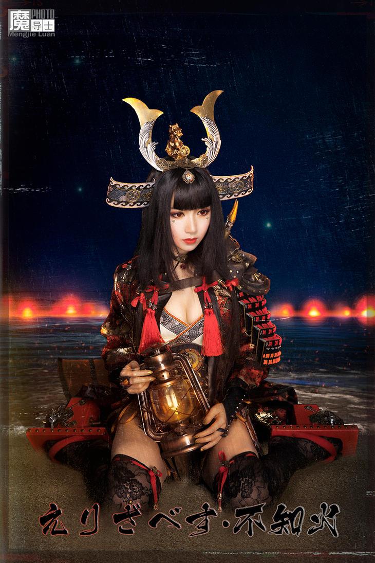 2017 Halloween Seafire Samurai Elisabeth-Shiranui by aoandou