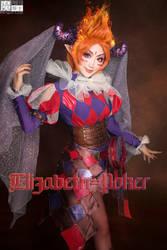 2018 Halloween Clown Elisabeth-Poker