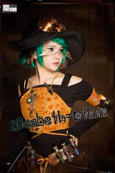 2018 Halloween Witch Elisabeth-Diana