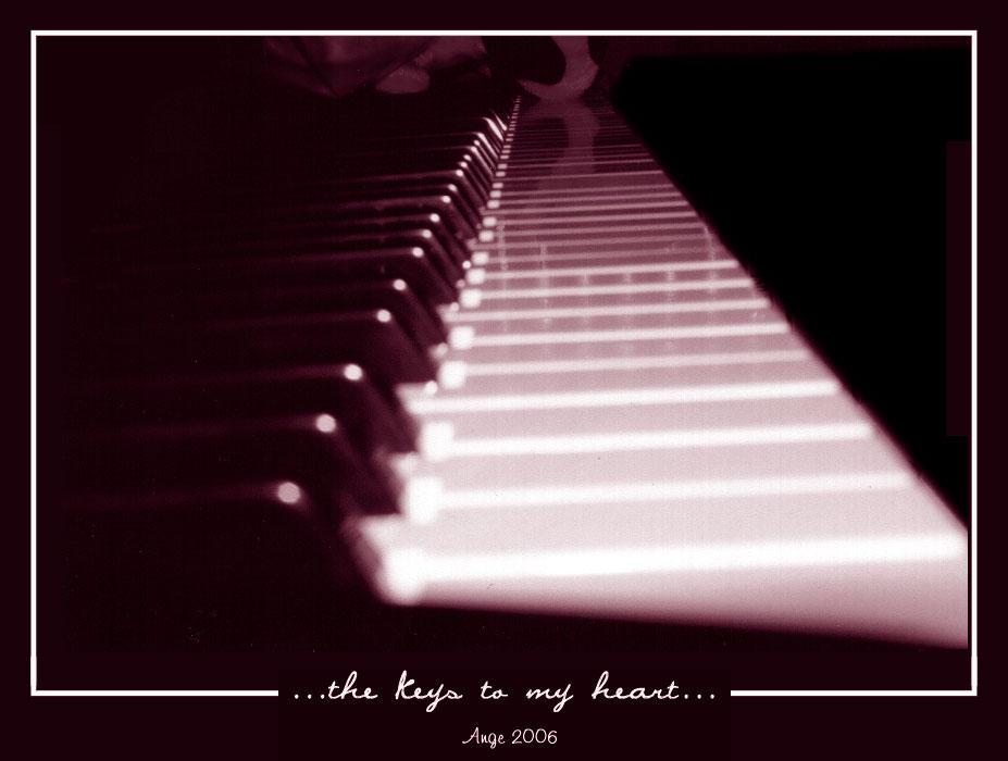 ...the keys to my heart...