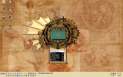 Desktop by mistressali