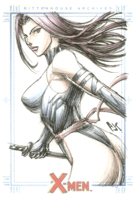 psylocke by AnthonyTAN7775