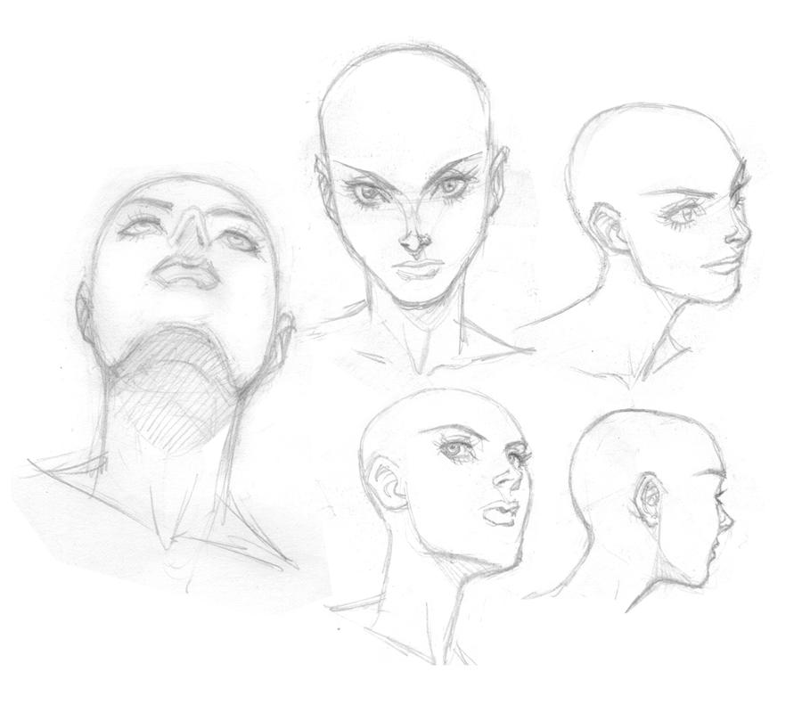 woman head shots by AnthonyTAN7775