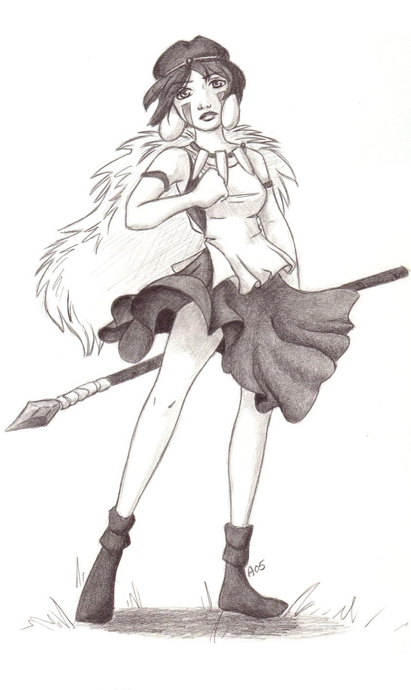 Princess Mononoke By Blightedangel On Deviantart