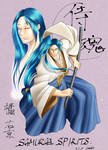Ukyo Tachibana from Samurai spirits.