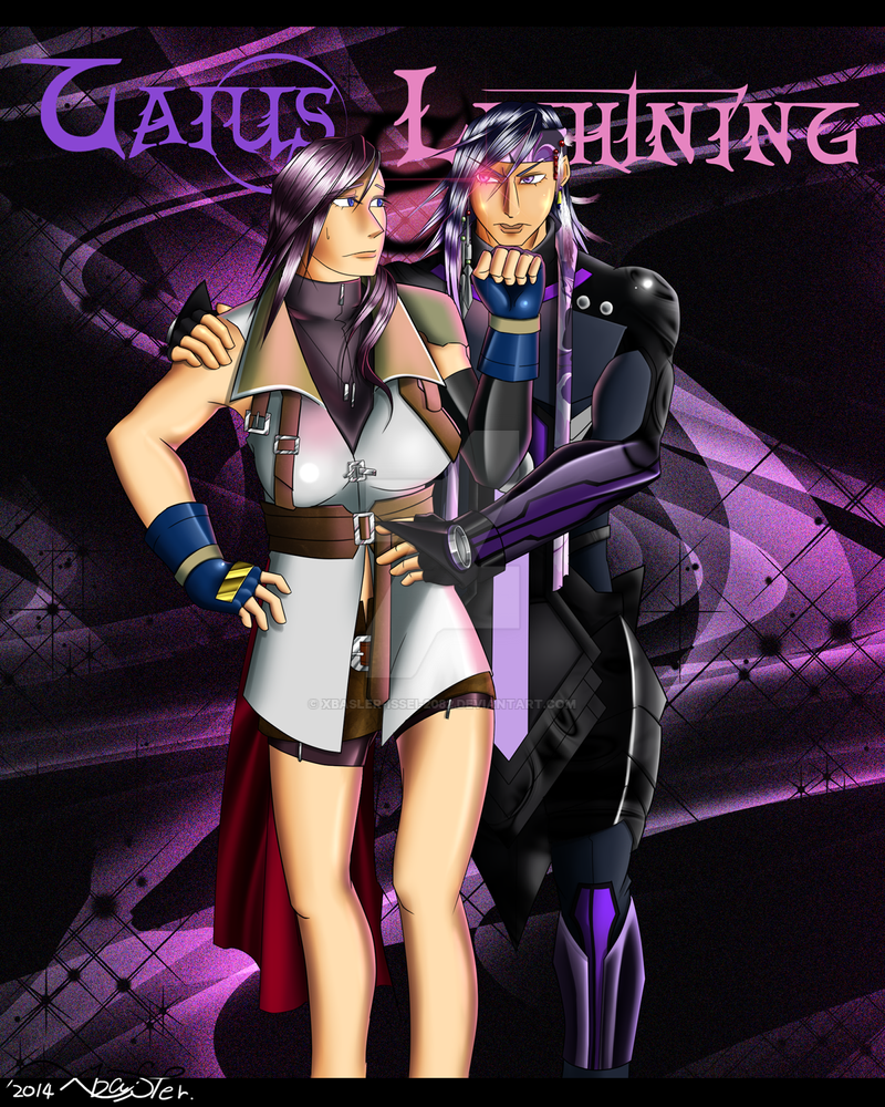 Caius and Lightning 1 ver2 by Xbasler-Issei-2082