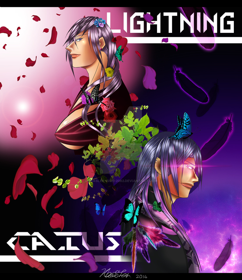 Caius and Lightning 2 by Xbasler-Issei-2082