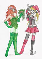 The Harley and the Ivy by death-g-reaper