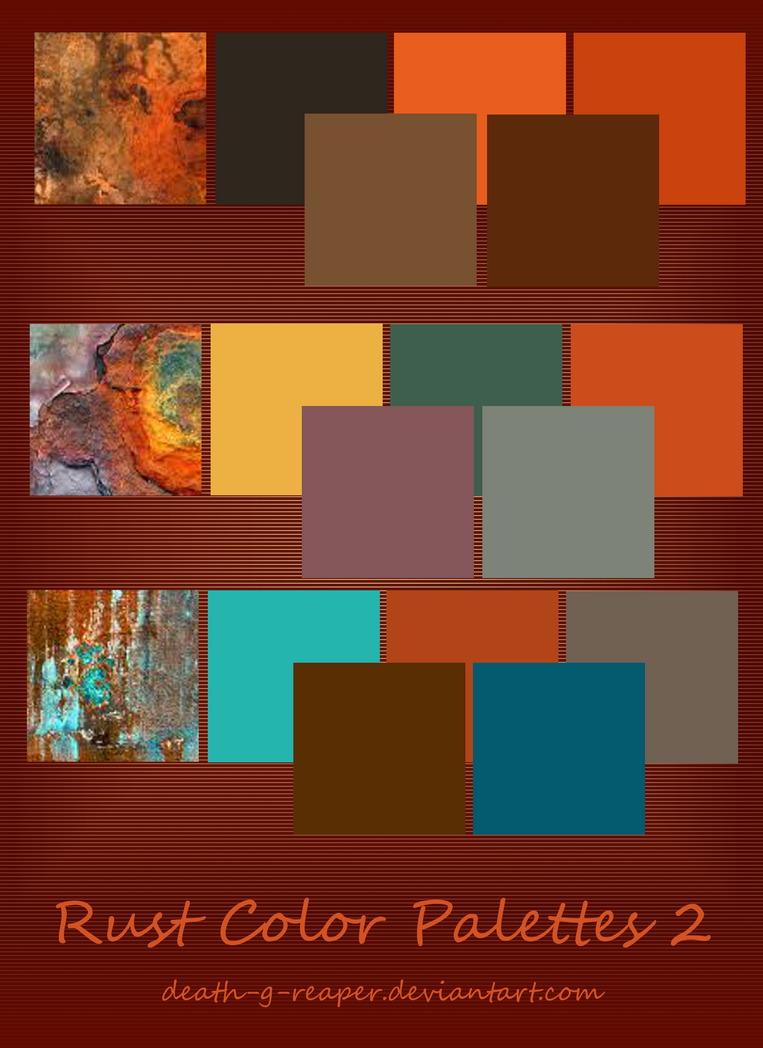 Rust Color Palette 2 By Death G Reaper