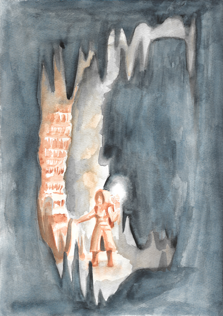 Cave Explorer by death-g-reaper