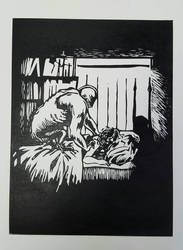 sleep paralysis relief print by death-g-reaper