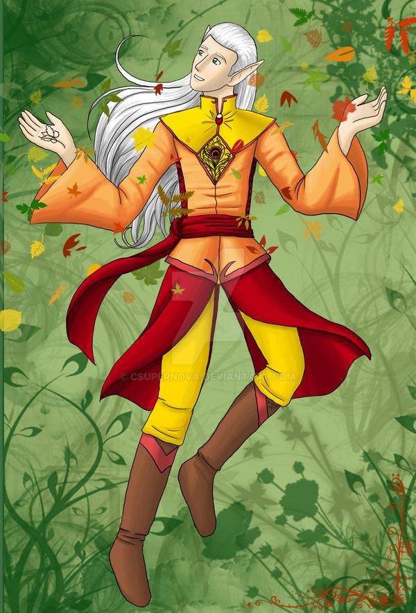 Flower man by CSupernova