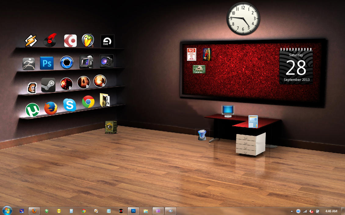 Current Desktop by alucard07