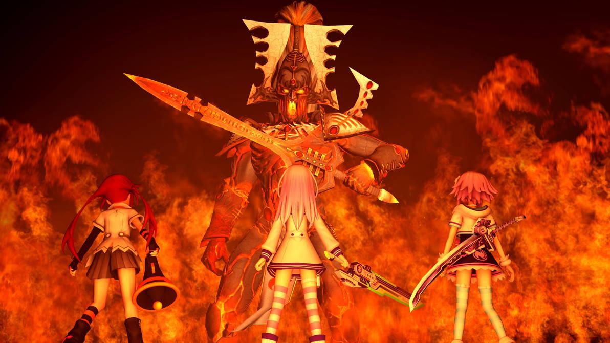 Boss Fight : Avatar of Khaine by brsfanmxy on DeviantArt