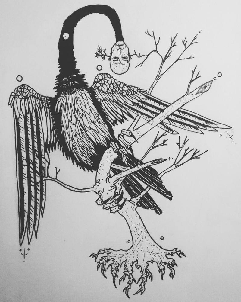 Bird by SapientiaVulpes