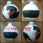 Dachshund Ornament by Maryhaskitties