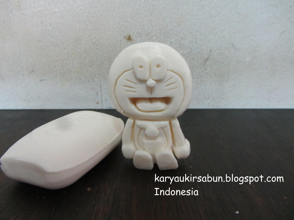 Doraemon Soap Carving by moopal on DeviantArt