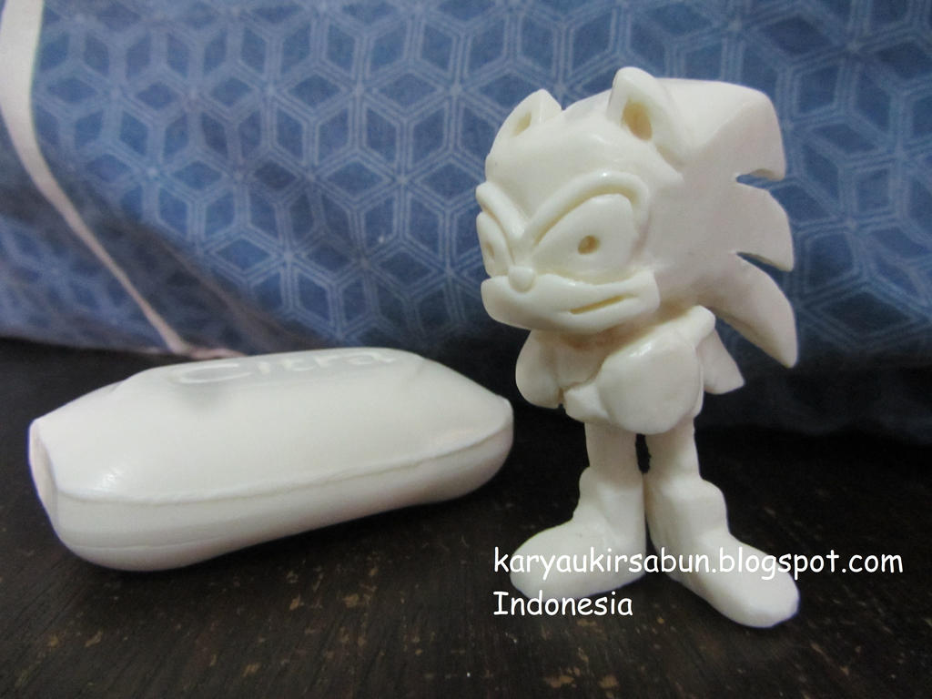 Sonic soap carving by moopal on deviantart
