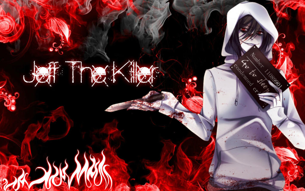 Jeff The Killer Wallpaper By AnimeAndVideogames17