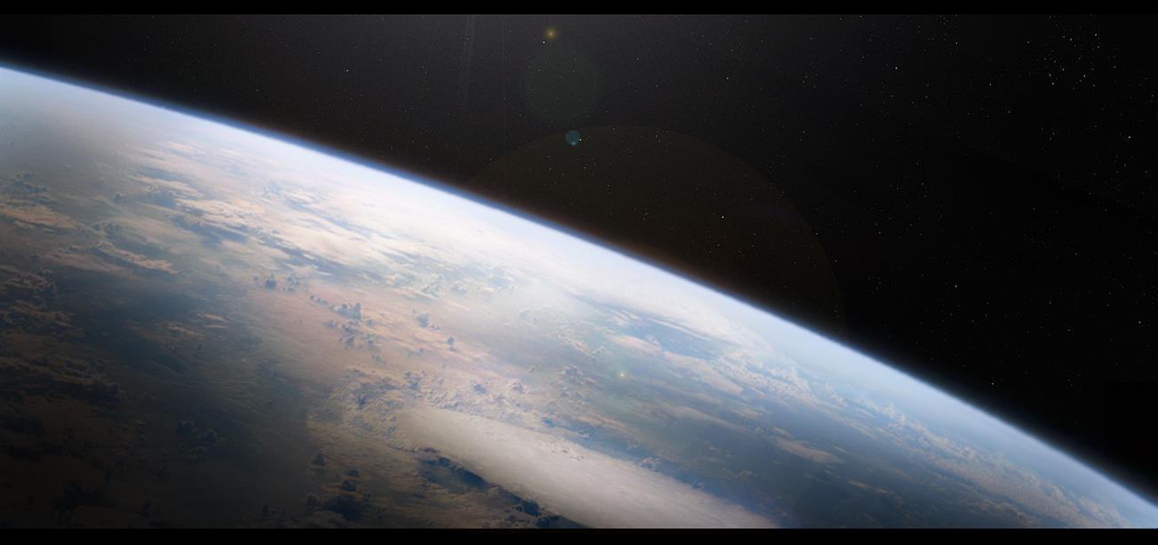 matte painting space by kacktustoo on deviantart ForSpace Matte Painting