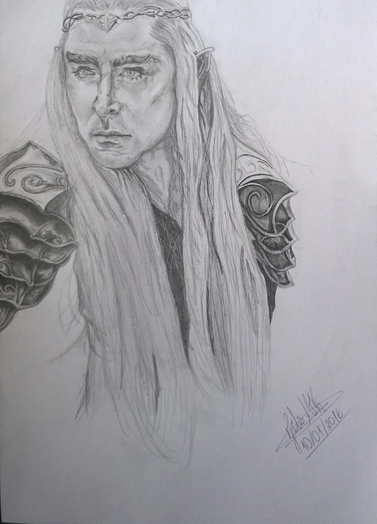 Thranduil by LaurenDahmer