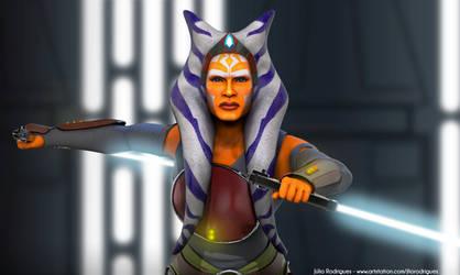 Ahsoka Tano - Star Wars Rebels by LaurenDahmer