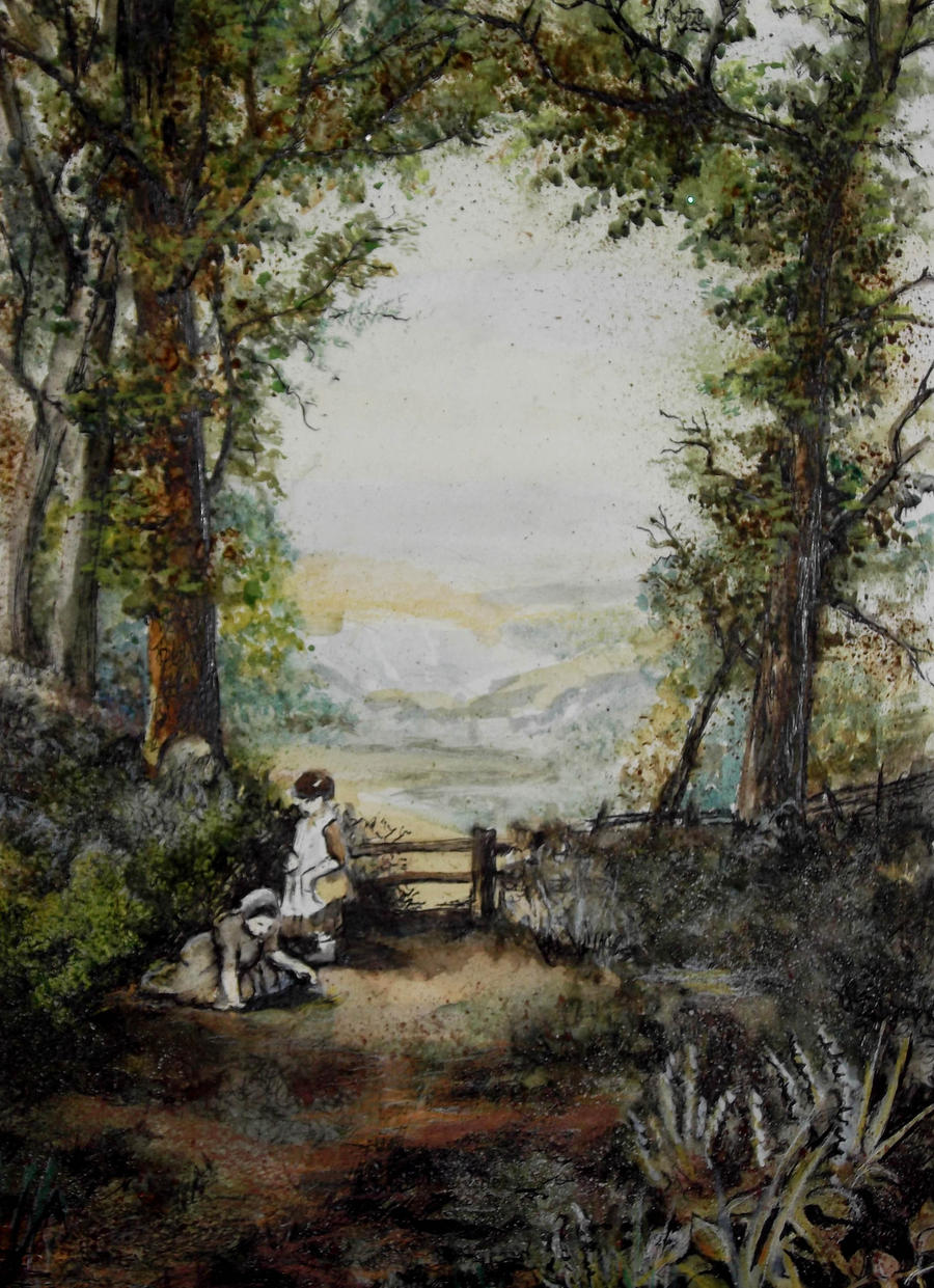 Victorian Landscape by Larainjp
