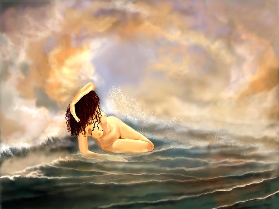 Birth of Venus by Larainjp