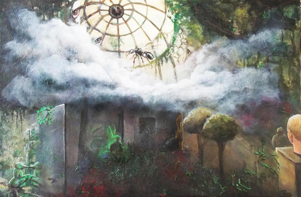 The Glasshouse in My Garden by Larainjp