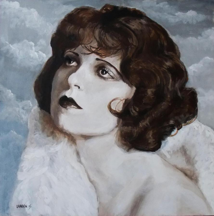 Clara Bow by Larainjp