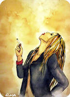 Smoking by IrinaLara