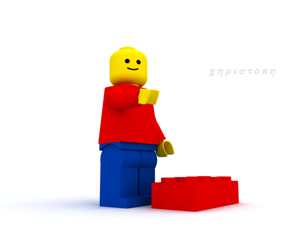 Lego Guy by thekeyofE