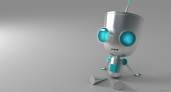 cool robot renders Gir_by_thekeyofE