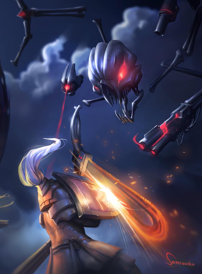 Skeletron Prime by Samrausku