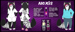 Alexis Reference [ANTHRO] by LexiPupcakes