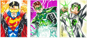 Comissioned sketchcards 2 by MarcFerreira