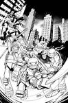TMNT New Animated Adventures#11 - variant cover